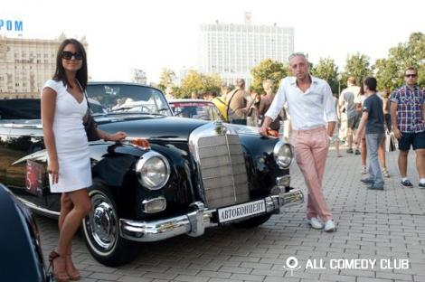Сергей Гореликов покорял «Ночную Москву»