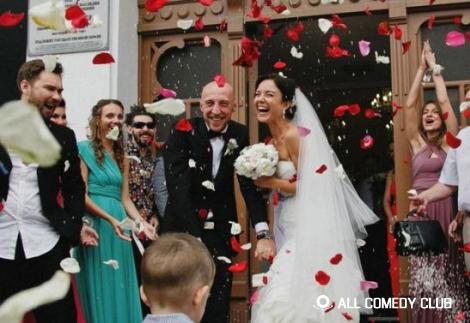 Сергей Гореликов из Камеди Клаб женился!